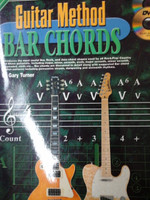 PROGRESSIVE GUITAR METHOD BAR CHORDS BY G.TURNER CD/DVD,70% OFF