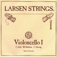 Larsen Cello String Set Standard - Fractional - 1/8, 1/4, 1/2 or 3/4 - Medium Tension