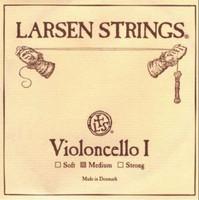 Larsen Cello String Set Standard - Fractional - 1/8, 1/4, 1/2 or 3/4 - Medium Tension