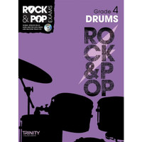 TG Rock & Pop Exams Drums Gr 4 BK/CD - 40% OFF
