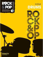 TG Rock & Pop Exams Drums Initial BK/CD - 40% OFF