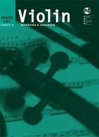 Violin Series 8 - Recording and Handbook Grades 3 & 4, for Violin, Publisher AMEB, Series AMEB Violin