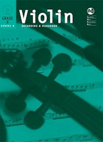 Violin Series 8 -Recording and Handbook Grade 6, for Violin, Publisher AMEB, Series AMEB Violin