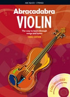 Abracadabra Violin 3rd Edition Book + 2CDs, for Violin, Author Peter Davey, Publisher A & C Black, Series Abracadabra Strings