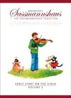 Early Start on the Viola, Volume 2, for Viola, Author Egon Sassmannshaus, Kurt Sassmannshaus, Publisher  Barenreiter, Series The Sassmannshaus Tradition