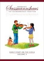 Early Start on the Viola, Volume 3, for Viola, Author Egon Sassmannshaus, Kurt Sassmannshaus, Publisher Barenreiter, Series The Sassmannshaus Tradition