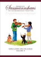 Early Start on the Viola, Volume 4, by Egon Sassmannshaus, Kurt Sassmannshaus, for Viola, Series The Sassmannshaus Tradition, Publisher Barenreiter,