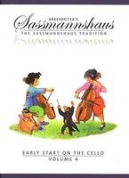 Early Start on the Cello, Volume 4, by Egon Sassmannshaus, Michael Corssen, for Cello, Series The Sassmannshaus Tradition, Publisher Barenreiter
