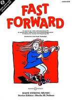 Fast Forward, by Hugh Colledge, Katherine Colledge, for Violin&Play-Along CD, Publisher Boosey & Hawkes