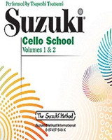 Suzuki Cello School CD, Volume 1 & 2 for Cello and Demonstration CD, Series of Suzuki Cello School, Publisher Summy Birchard, Artist Tsuyoshi Tsutsumi