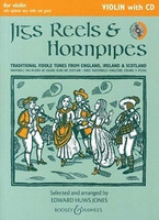 Jigs, Reels & Hornpipes, Violin with CD, by Edward Huws Jones, for Violin&Demonstration & Play-Along CD, Series Fiddler Collection, Publisher Boosey & Hawkes