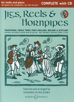 Jigs, Reels & Hornpipes,Complete with CD, by Edward Huws Jones, for Violin&Demonstration & Play-Along CD Piano, Publisher Boosey & Hawkes