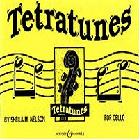 Tetratunes for Cello, by Sheila Mary Nelson, for Cello, Series Tetratunes, Publisher Boosey & Hawkes