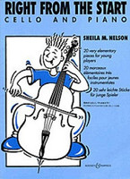 Right from the Start, Arranger Sheila Mary Nelson, for Cello&Piano, Publisher Boosey & Hawkes