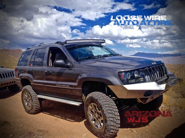 Wj Brackets For 50 Quot Curved Led Light Bar Includes A Set