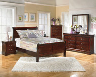 Alisdair 5 Pc. Dresser, Mirror, Chest & Queen Sleigh Bed