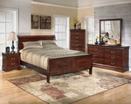 Alisdair 6 Pc. Dresser, Mirror, Chest, Queen Sleigh Bed & Nightstand