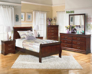 Alisdair 4 Pc. Dresser, Mirror & Twin Sleigh Bed