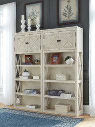 Bolanburg Two-tone 2 Large Bookcases
