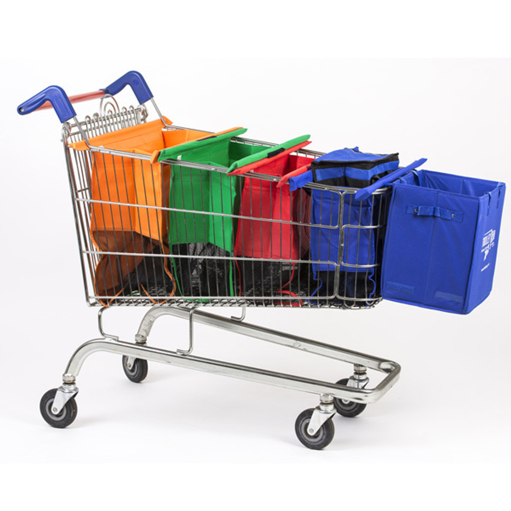 Trolley Bags Xtra extends your trolley for those Xtra big shops.