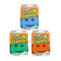 Scrub Daddy Colours can remove many stains with just water to minimise your use of harsh chemicals.