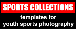 youth sports photography templates - my photo borders sports photography templates for