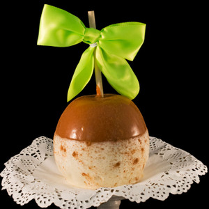 Apple Pie Ala Mode caramel apple from DeBrito Chocolate Factory.
