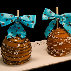 Salted Caramel Apple from DeBrito Chocolate Factory.