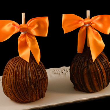 The California Caramel Apple from DeBrito Chocolate Factory