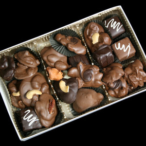 Gourmet Boxed Nuts and Chewy Caramels from DeBrito Chocolate Factory