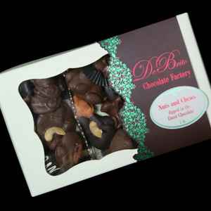 Holiday Gourmet Boxed Nuts and Chewy Caramels from DeBrito Chocolate Factory