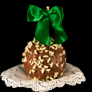 Limited Edition Irish Cream Caramel Apple from DeBrito Chocolate Factory