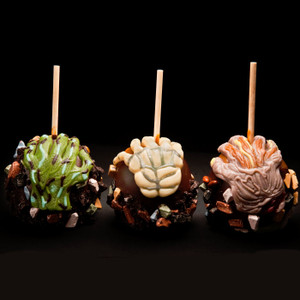 Halloween Grave Grabbers Caramel Apple from DeBrito Chocolate Factory