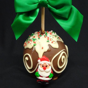 Merry And Bright Caramel Apple