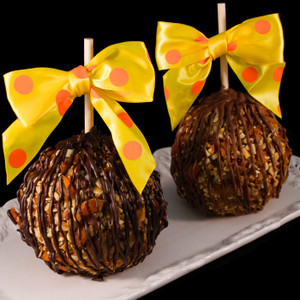 Gold Rush Caramel Apple by DeBrito Chocolate Factory