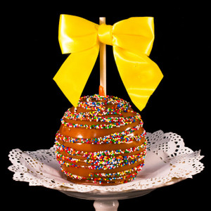 Confetti Caramel Apple form DeBrito Chocolate Factory