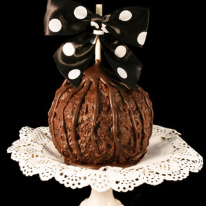 Black Forest Caramel Apple from DeBrito Chocolate Factory.