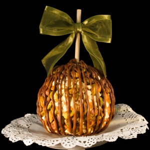 Pistachio Chip Caramel Apple from DeBrito Chocolate Factory