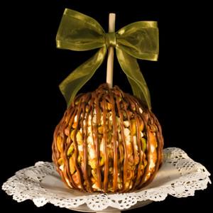 Pistachio Chip Caramel Apple from DeBrito Chocolate Factory