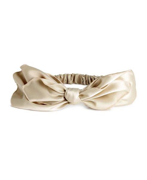 Sample Fog Linen Chambray Towel - Beige Stripe