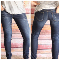Dark Wash Denim Skinnies