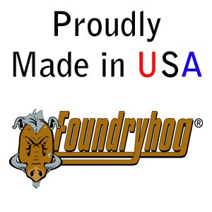 "FOUNDRYHOG by Flexovit A8345 9""x1/4""x7/8"" ZACX24U  -  HEAVY DUTY Depressed Center Grinding Wheel"