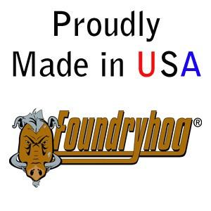 "FOUNDRYHOG by Flexovit A8345H 9""x1/4""x5/8-11 ZACX24U  -  HEAVY DUTY Depressed Center Grinding Wheel"