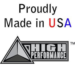 "HIGH PERFORMANCE by Flexovit N3232 1-1/2""x3""x5/8-11 A24RB Resin Plug"