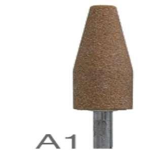 "HIGH PERFORMANCE by Flexovit M0001 3/4""x2-1/2""x1/4"" SHANK WA60RV VITRIFIED Mounted Point"