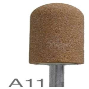 "HIGH PERFORMANCE by Flexovit M0011 7/8""x2""x1/4"" SHANK WA60RV VITRIFIED Mounted Point"