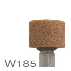 "HIGH PERFORMANCE by Flexovit M0185 1/2""x1/2""x1/4"" SHANK WA60RV VITRIFIED Mounted Point"