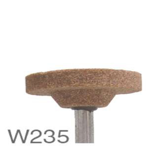 "HIGH PERFORMANCE by Flexovit M0235 1-1/2""x1/4×1/4"" SHANK WA60RV VITRIFIED Mounted Point"