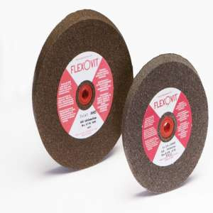 "HIGH PERFORMANCE by Flexovit U5125 8""x1""x1-1/4"" A46 MEDIUM  -  GENERAL GRINDING Bench Grinder Wheel"