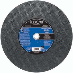 """HIGH PERFORMANCE by Flexovit F5653 14""""x1/8""""x20mm A24/30SB  -  HEAVY DUTY Reinforced High Speed Cutoff Wheel"""